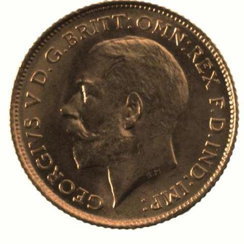 Half Sovereign 1915: Photo Coin - Half Sovereign, New South Wales, Australia, 1915