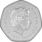 United Kingdom / Fifty Pence 2014 Commonwealth Games - obverse photo