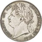United Kingdom / Halfcrown 1821 - obverse photo