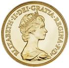 Five Pounds Gold 1984: Photo Great Britain 1984 5 pounds