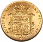 United Kingdom / Sovereign 1829 - reverse photo