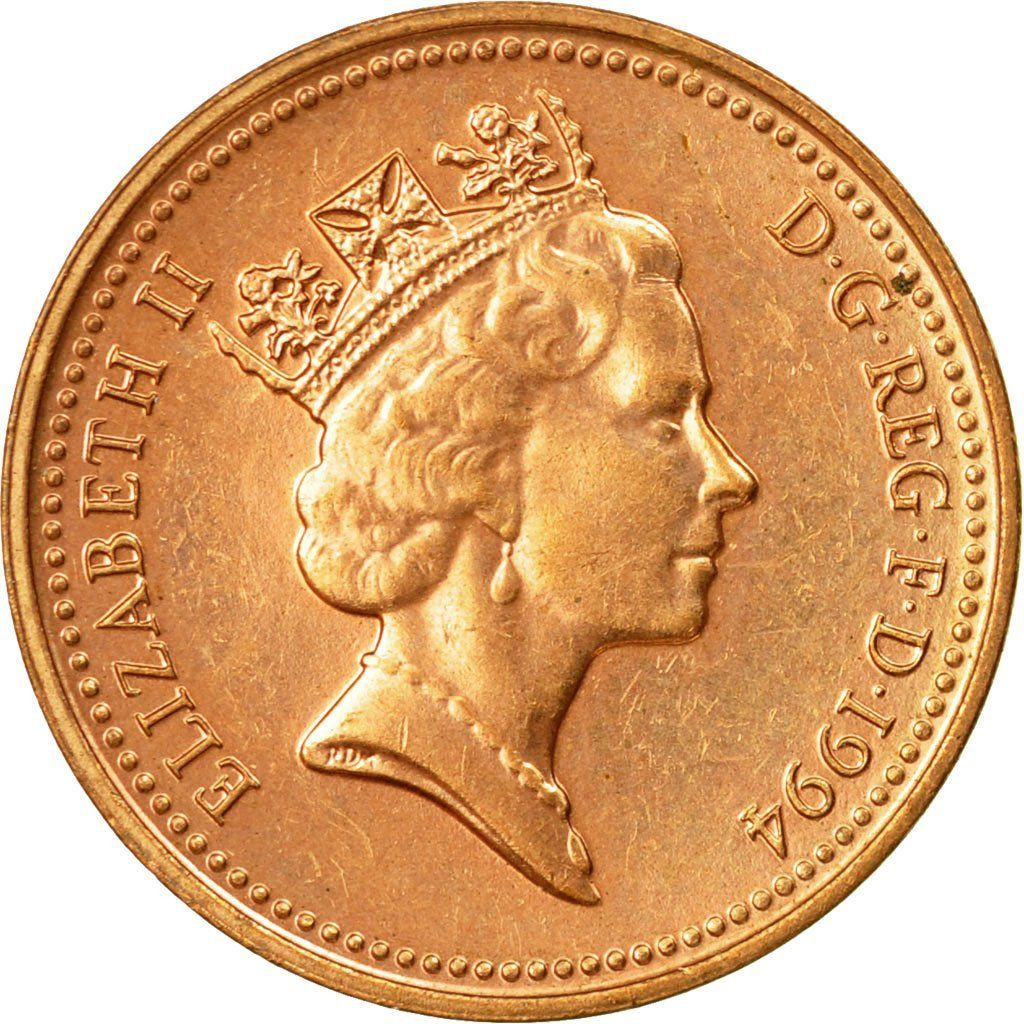 One Penny: Photo Coin, Great Britain, Penny, 1994