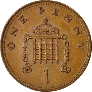 United Kingdom / One Penny 1988 - reverse photo