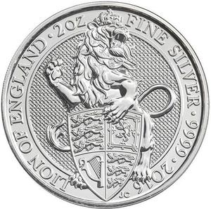 United Kingdom / Silver Two Ounces (2 oz) - reverse photo