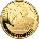 United Kingdom / Gold Quarter Ounce 2011 Juno - reverse photo