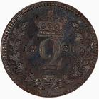 Twopence 1831 (Maundy): Photo Coin - Twopence (Maundy), William IV, Great Britain, 1831