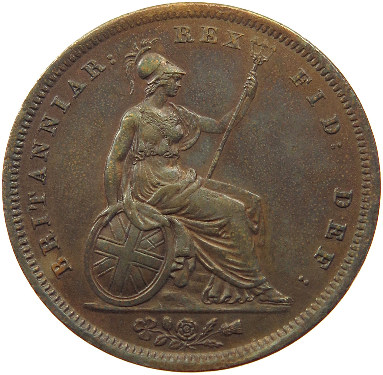 Penny 1826: Photo Great Britain Penny 1826