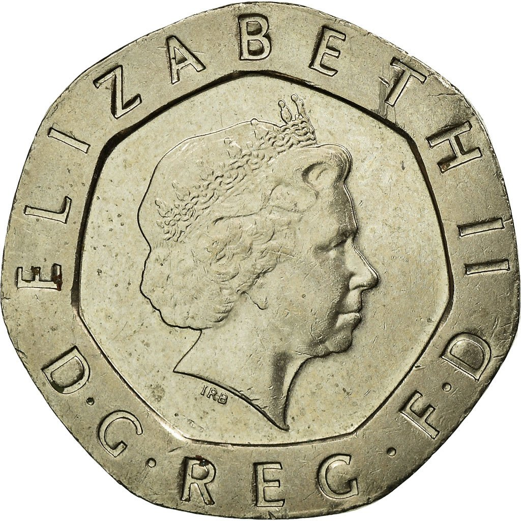 Twenty Pence 2007: Photo Coin, Great Britain, 20 Pence, 2007