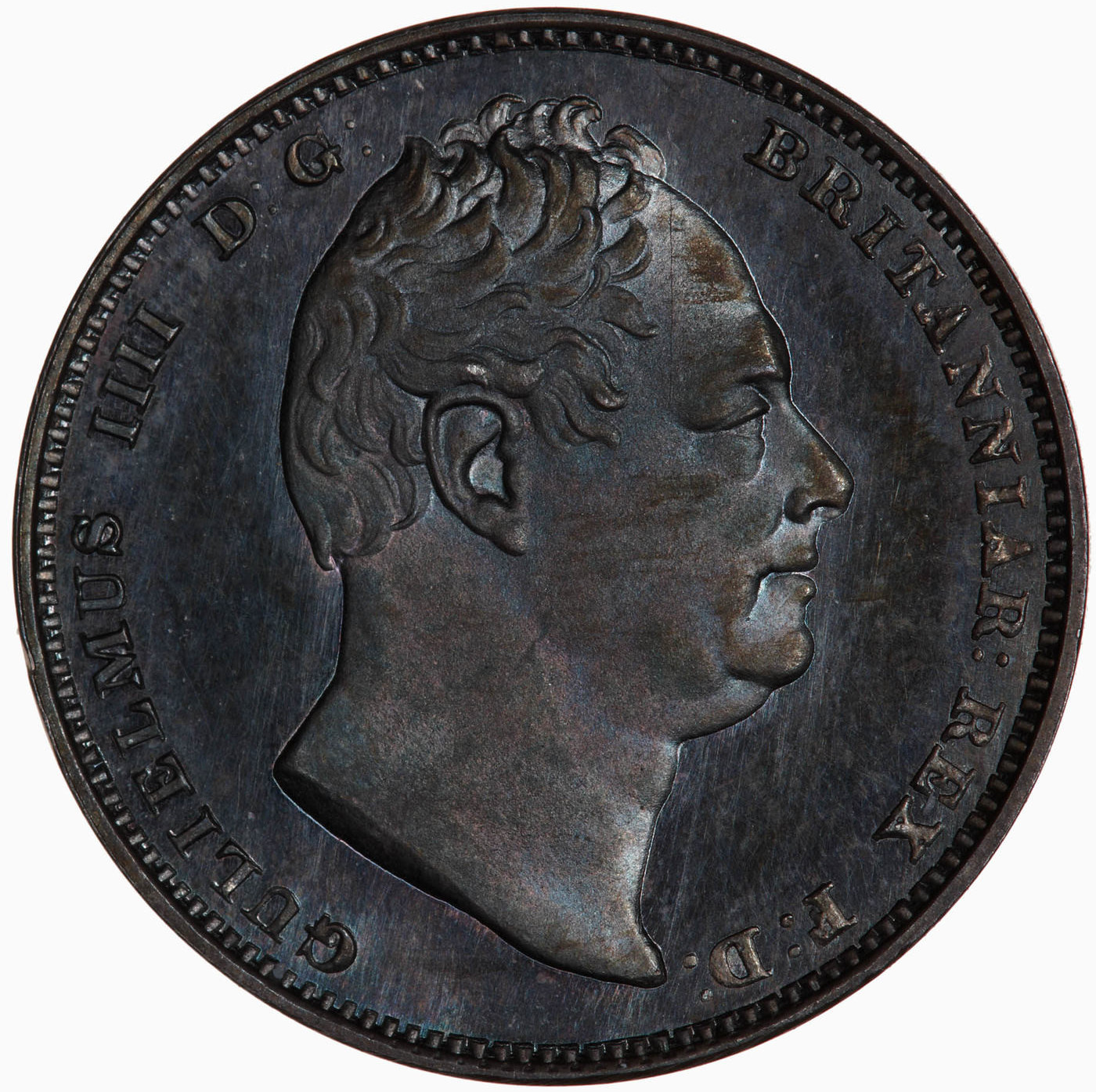 Sixpence Wreath (First Design): Photo Proof Coin - Sixpence, William IV, Great Britain, 1831
