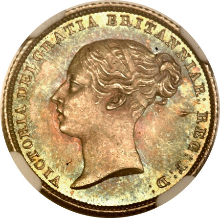 Sixpence 1851: Photo Great Britain 1851 6 pence