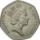 United Kingdom / Fifty Pence 1997 (Small) - obverse photo