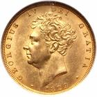 United Kingdom / Sovereign 1829 - obverse photo