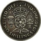 United Kingdom / Two Shillings (Florin) 1940 - reverse photo