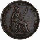 Penny 1834: Photo Coin - Penny, William IV, Great Britain, 1834