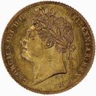 Half Sovereign 1821: Photo Coin - Half-Sovereign, George IV, Great Britain, 1821