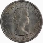 Sixpence 1966: Photo Coin - Sixpence, Elizabeth II, Great Britain, 1966