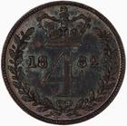 United Kingdom / Fourpence 1882 (Maundy) - reverse photo