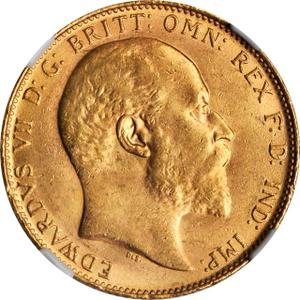 United Kingdom / Sovereign 1910 - obverse photo