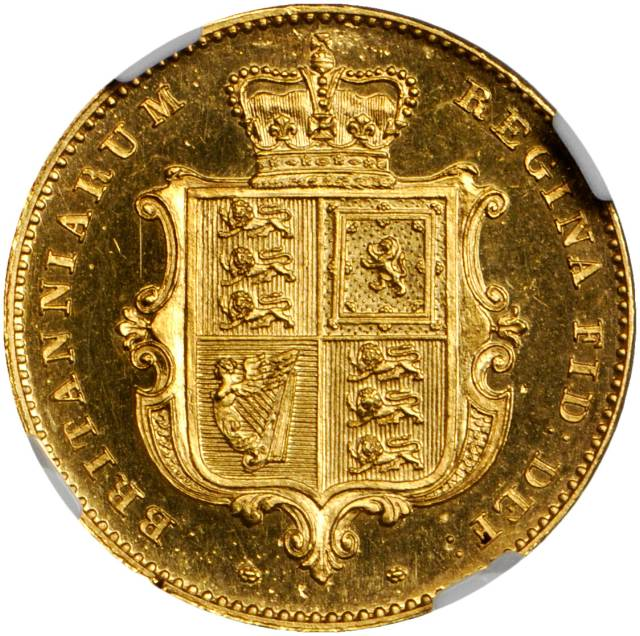 Half Sovereign 1839 (Proof only): Photo Great Britain 1839 1/2 sovereign