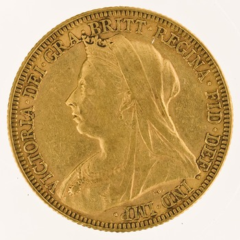 Sovereign 1896: Photo Gold sovereign, London (England)