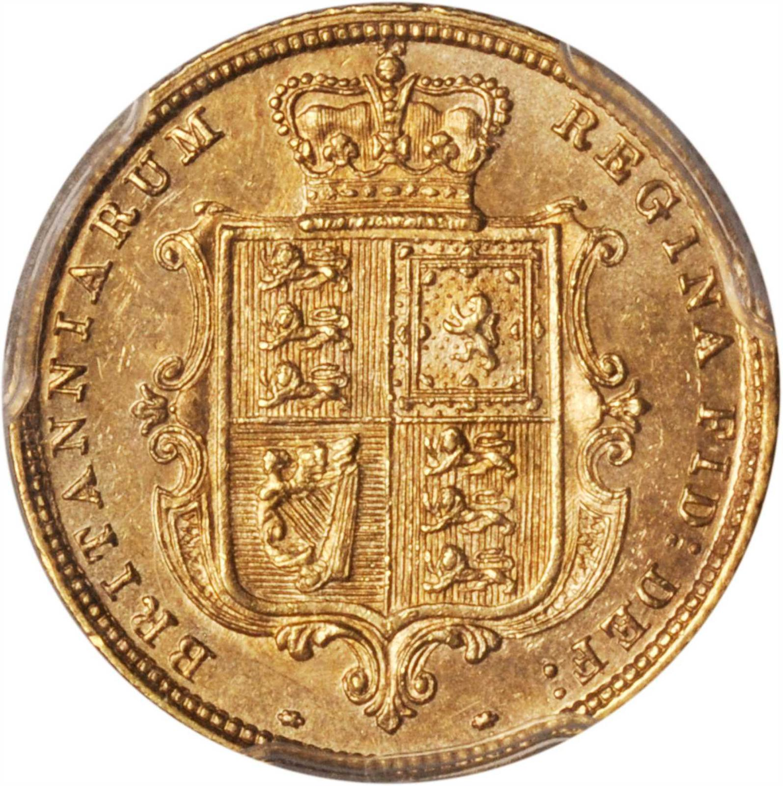 Half Sovereign 1883: Photo Great Britain 1883 1/2 sovereign