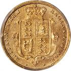 United Kingdom / Half Sovereign 1883 - reverse photo