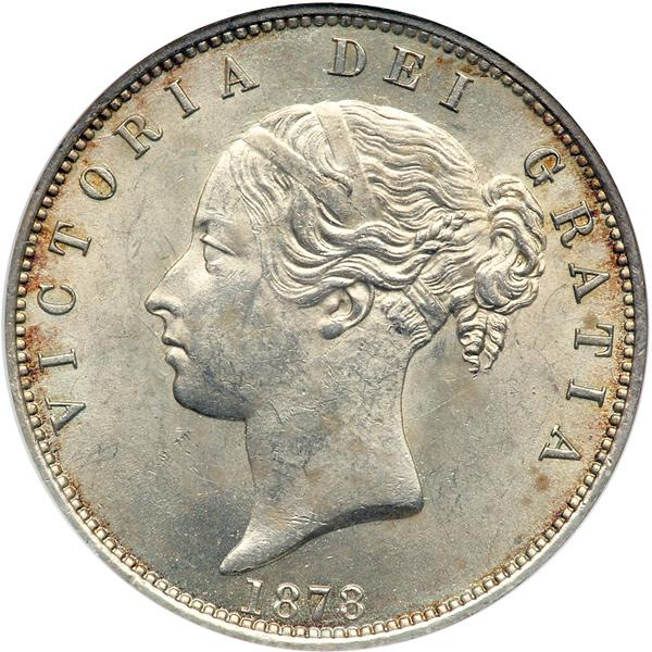 Halfcrown 1878: Photo Great Britain 1878 half crown