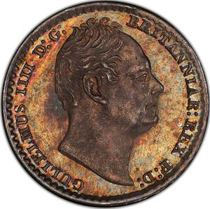 United Kingdom / Penny 1837 (Maundy) - obverse photo