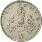 United Kingdom / Five Pence 1979 - reverse photo