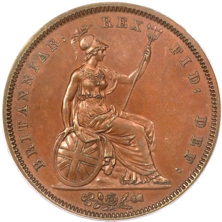 Penny 1831: Photo Great Britain 1831 penny