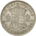 Halfcrown 1943: Photo 1943 George VI British Silver Half Crown