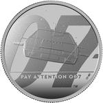 United Kingdom / Silver Two Ounces 2020 James Bond, Pay Attention - reverse photo