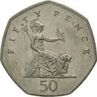United Kingdom / Fifty Pence 1997 (Small) - reverse photo