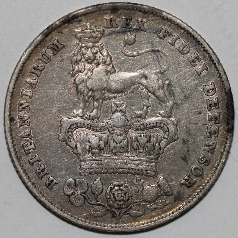 Shilling 1826: Photo Great Britain, George IV (1820-1830): Shilling 1826