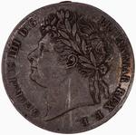 Fourpence 1827 (Maundy): Photo Coin - Groat, George IV, Great Britain, 1827