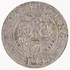 Shilling 1895: Photo Silver shilling, Great Britain