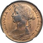 United Kingdom / Penny 1890 - obverse photo