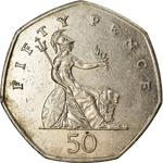 United Kingdom / Fifty Pence 2007 - reverse photo