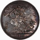 Crown 1888: Photo Coin - Crown, Queen Victoria, Great Britain, 1888