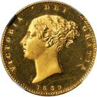 United Kingdom / Half Sovereign 1839 (Proof only) - obverse photo
