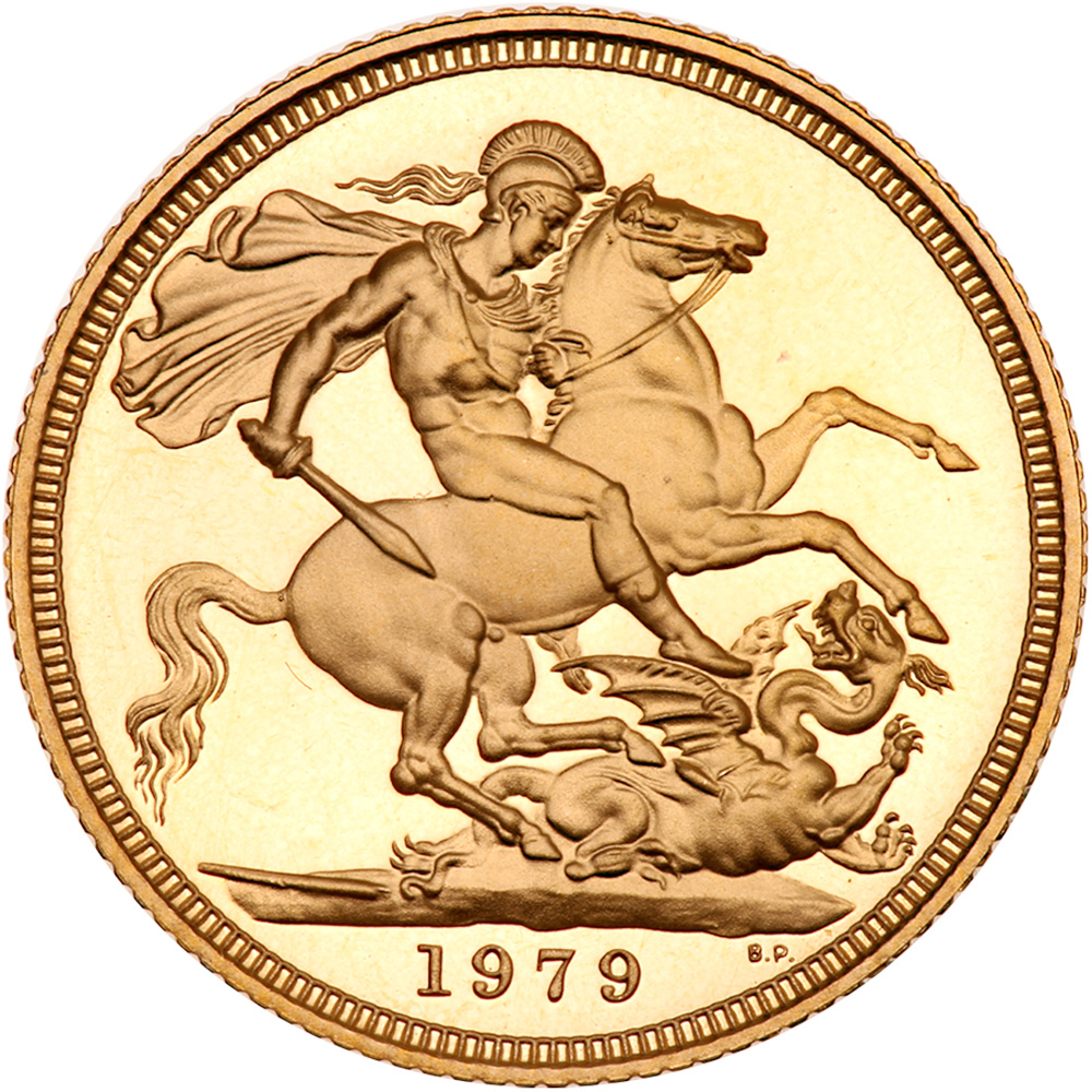 Sovereign (Decimal): Photo Great Britain 1979 sovereign