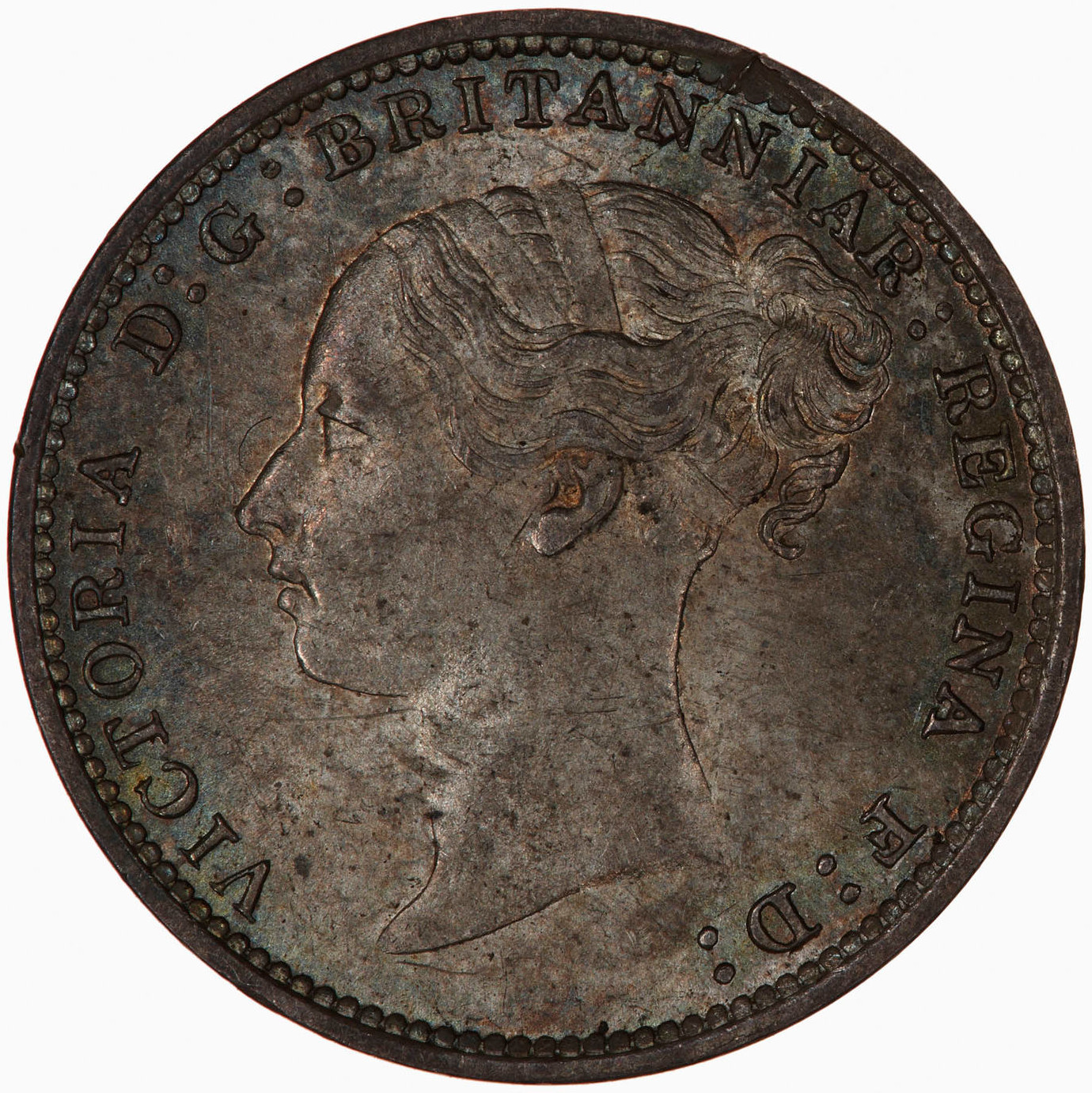Threepence 1886 (Maundy): Photo Coin - Threepence, Queen Victoria, Great Britain, 1886