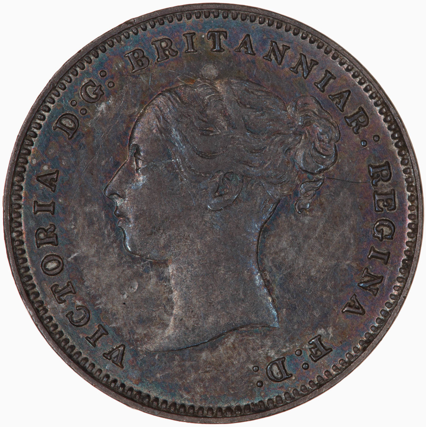 Fourpence 1882 (Maundy): Photo Coin - Groat (Maundy), Queen Victoria, Great Britain, 1882