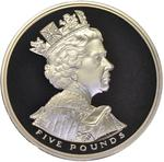 United Kingdom / Five Pounds 2002 Golden Jubilee - reverse photo