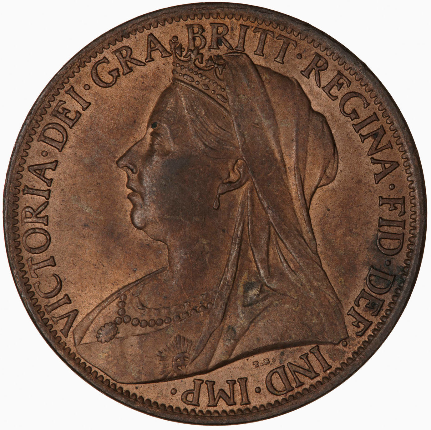 Penny 1899: Photo Coin - Penny, Queen Victoria, Great Britain, 1899