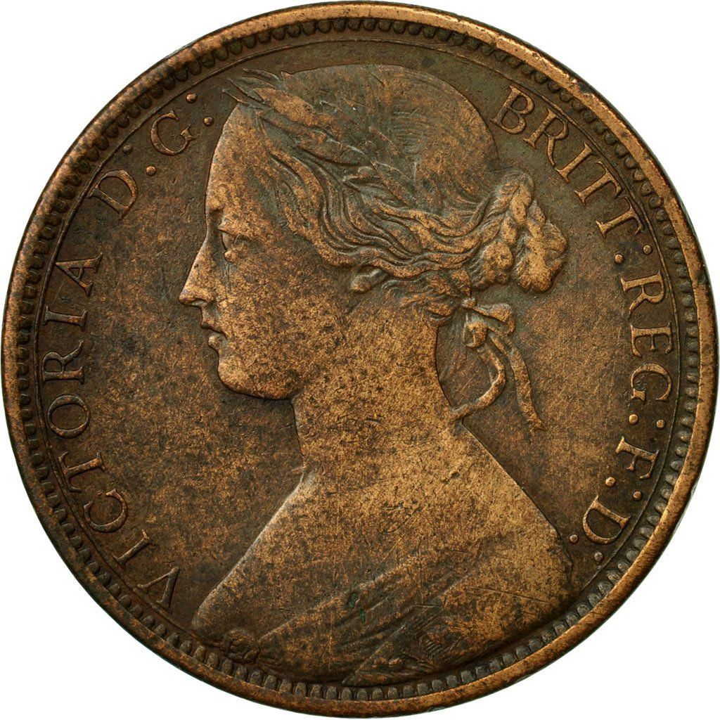 Penny 1870: Photo Coin, Great Britain, Victoria, Penny, 1870