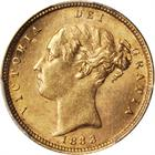 United Kingdom / Half Sovereign 1883 - obverse photo