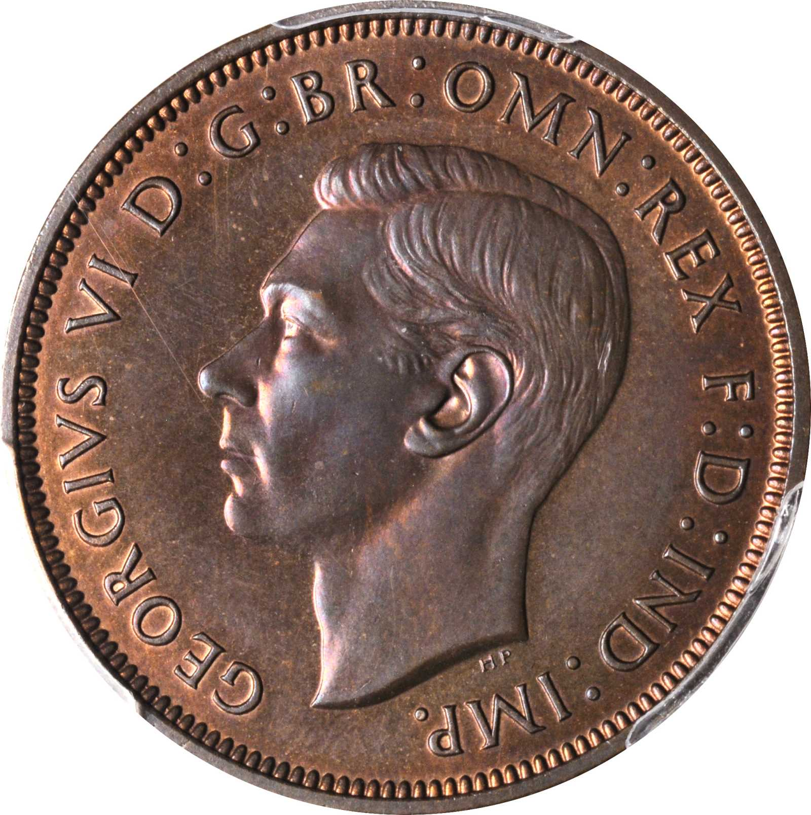 Penny 1938: Photo Great Britain 1938 penny
