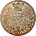 Sixpence 1884: Photo Great Britain 1884 6 pence
