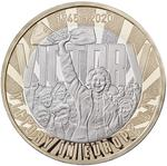 United Kingdom / Two Pounds 2020 VE Day - reverse photo